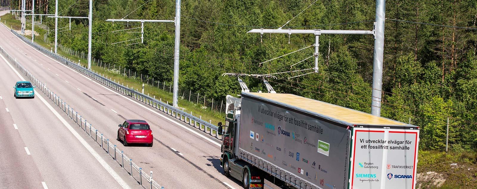 Terénna skúška elektrifikovanej diaľnice Schleswig-Holstein